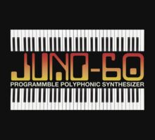 Old Juno 60 Synthesizer Kids Tee
