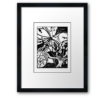 Transformation Series: Sun Water and Evolution  Framed Print