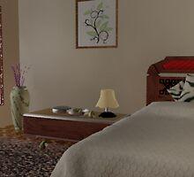 Bed room by BuddyArts