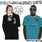 Balotelli's Grass Allergies Sorted? by flaminghdstore