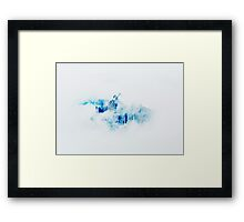 Voice and Reality V2 #redbubble Framed Print