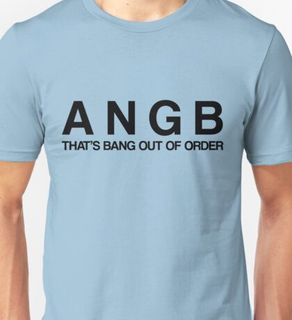 Bang Out Of Order! - Black T-Shirt