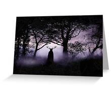 Shadow of Herne Greeting Card
