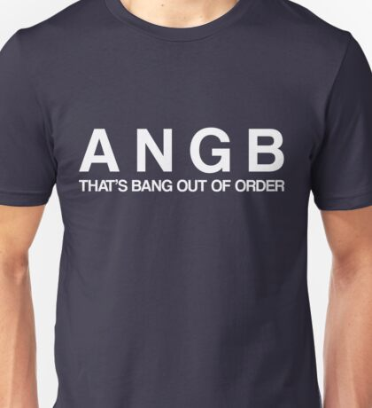 Bang Out Of Order! - White T-Shirt