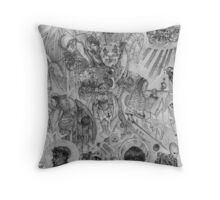 Temptation of St. Anthony Throw Pillow