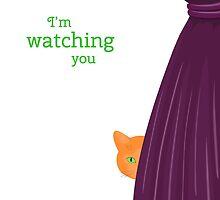 Spy cat by AllaRi