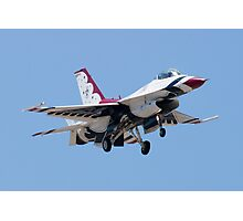 Head On with USAF Thunderbird 7 Photographic Print