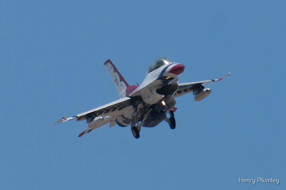 USAF Thunderbird 8 Head On by Henry Plumley