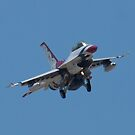 USAF Thunderbird 8 Head On by Henry Plumley