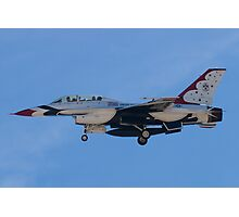 USAF Thunderbird 8 Side Shot Unmarked  Photographic Print