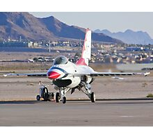 USAF Thunderbird #1 Parking Photographic Print