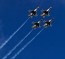 USAF Thunderbird Diamond Clover Loop by Henry Plumley