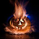 Flaming Pumpkin 2011 by David Preston