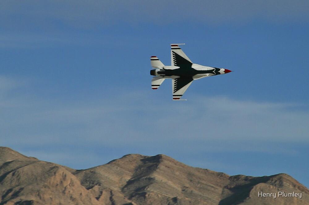 USAF Thunderbirds Solo Minimum Radius Turn by Henry Plumley