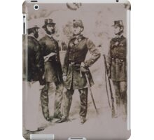 Foot Police of the 1860s iPad Case/Skin