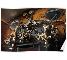 York Railway Museum Steam Engine Controls 2 Poster