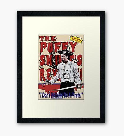 The Puffy Shirt's Revenge Framed Print
