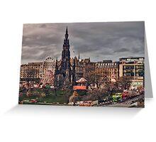 Edinburgh Scott Monument Greeting Card