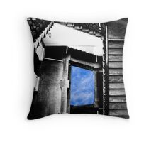 In search of Magritte Throw Pillow