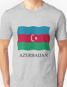 Azerbaijan flag Unisex T-Shirt