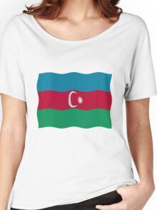 Azerbaijan flag Women's Relaxed Fit T-Shirt
