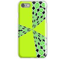 Retro blast (lime/black) iphone case iPhone Case/Skin