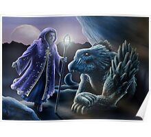 The sorceress and the dragon Poster