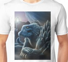 The sorceress and the dragon Unisex T-Shirt