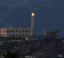 Seeing the Light ~ Alcatraz by fototaker