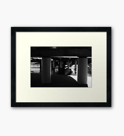 Under The Bridge #2 Framed Print