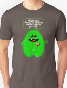 ALL THE THINGS I LIKE Unisex T-Shirt