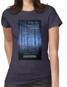 Once Upon A Time Quotes Womens Fitted T-Shirt