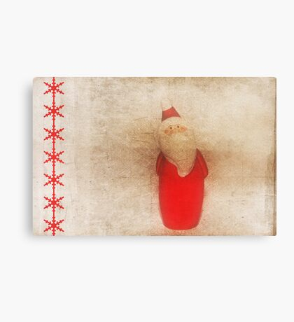 Waiting For Christmas Eve Canvas Print