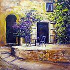 Sunny spot in Italy by Ivana Pinaffo