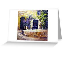 Sunny spot in Italy Greeting Card