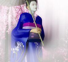 Geisha's Smile by Axel-Doi