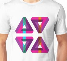 Impossible Triangles Unisex T-Shirt