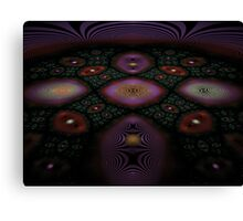 Fractal Fly-over Canvas Print