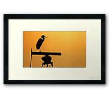 Hi-Tech Roost Framed Print