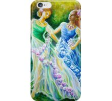 Two princesses iPhone Case/Skin