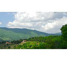 Tuscan Farm Photographic Print