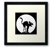 Lucky No 13 Cat Framed Print