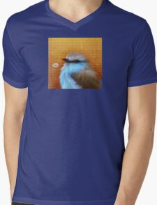 Bird Notes: Sing Mens V-Neck T-Shirt
