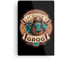 Ghost Pirate Grog Metal Print