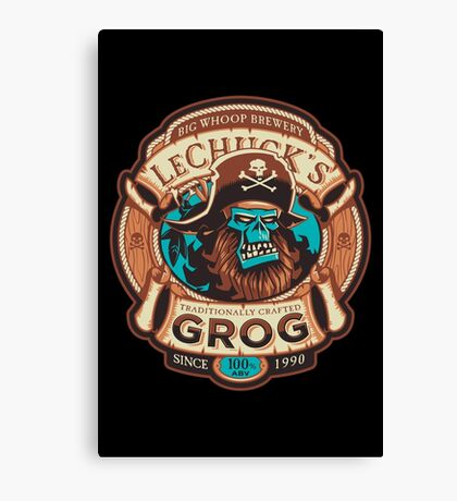 Ghost Pirate Grog Canvas Print