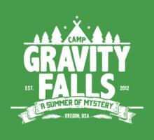 Camp Gravity Falls  One Piece - Short Sleeve