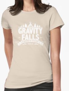 Camp Gravity Falls  Womens Fitted T-Shirt