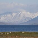 Snow on the hills of Harris by epgaskell