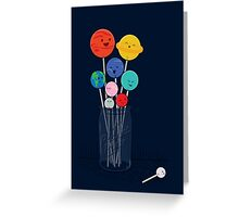 Planet Pops Greeting Card