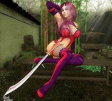 The Tenchi Warrior by Axel-Doi